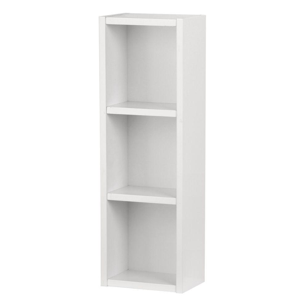 Kole 9-1/2 in. W Storage Shelf in White