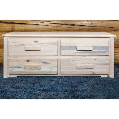 Homestead Collection Natural - Unfinished Storage Furniture