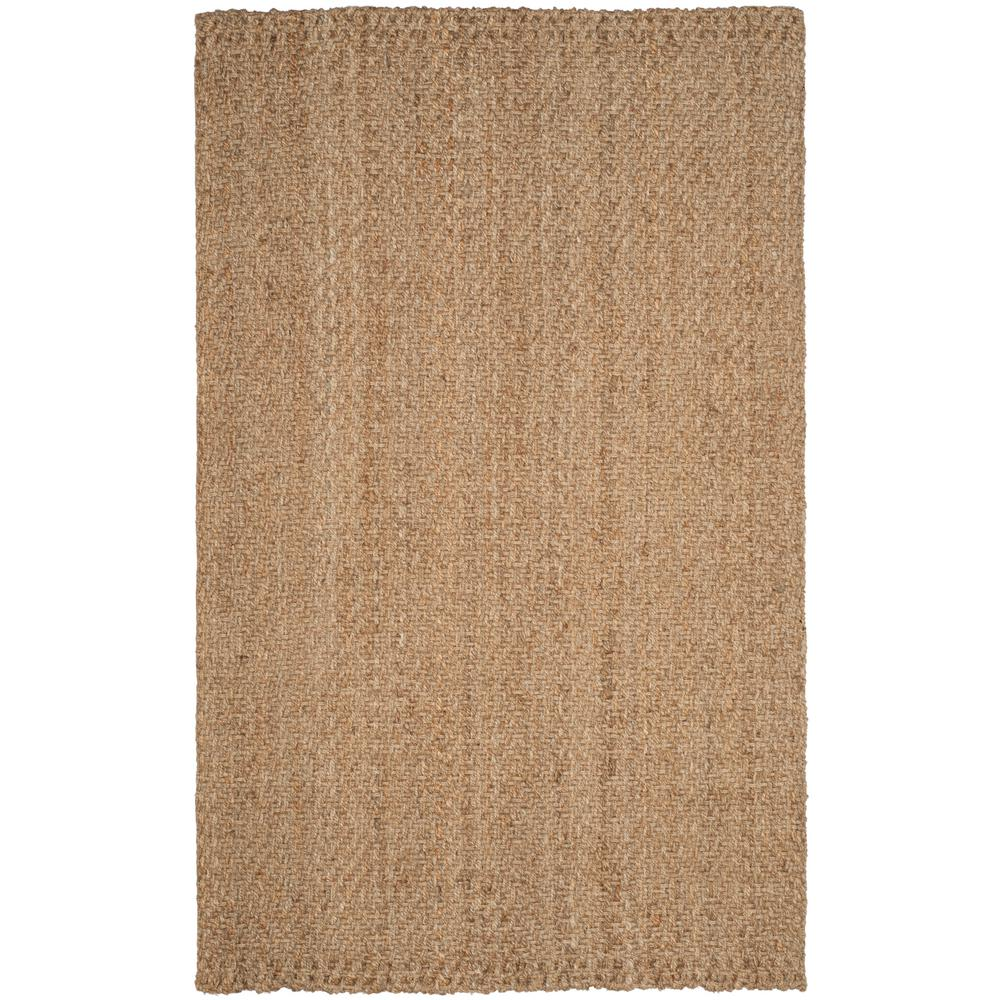 Natural Fiber Beige 5 ft. x 8 ft. Area Rug