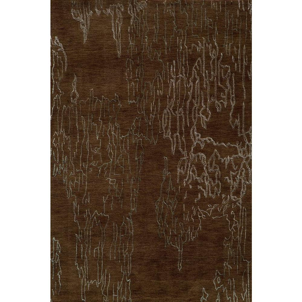 Momeni Passion Brown 9 ft. 6 in. x 13 ft. Indoor Area Rug