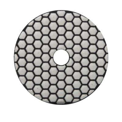 4 in. 800 Grit Resin Dry Polishing Pad