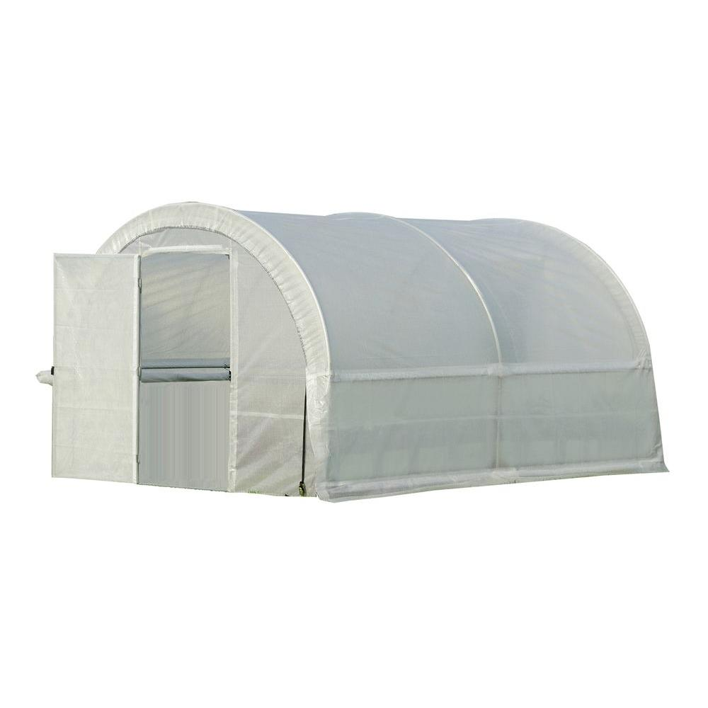 ShelterLogic GrowIt 13 ft. x 10 ft. x 8 ft. Organic Growers Pro RoundTop Greenhouse