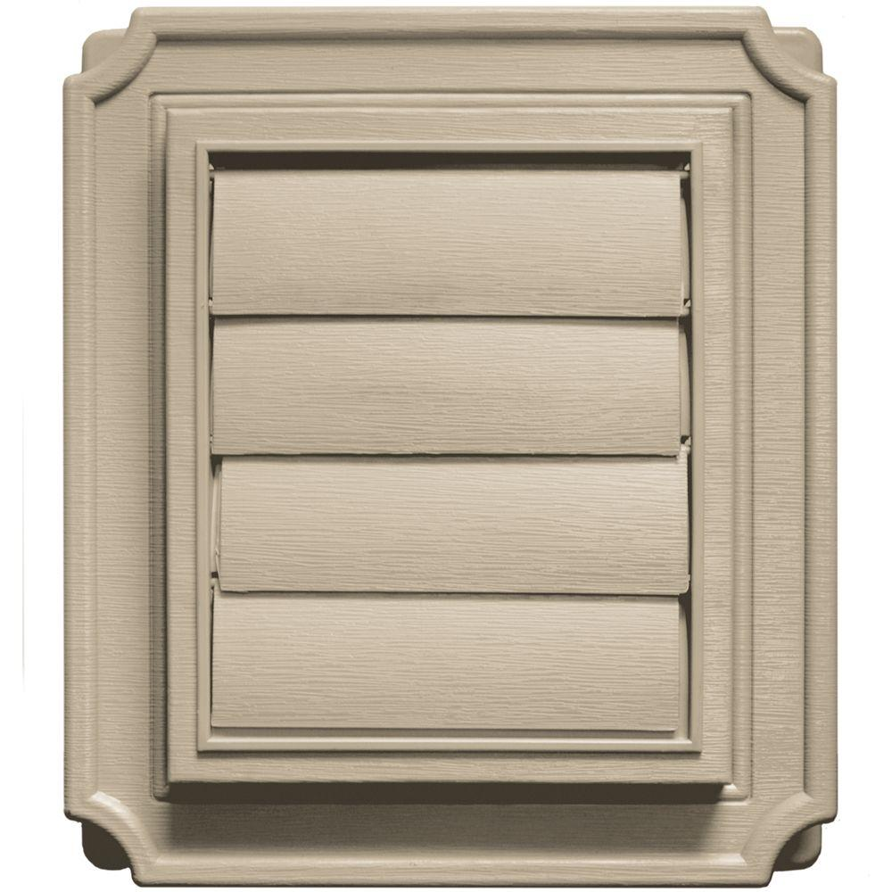 Scalloped Exhaust Siding Vent #085-Clay