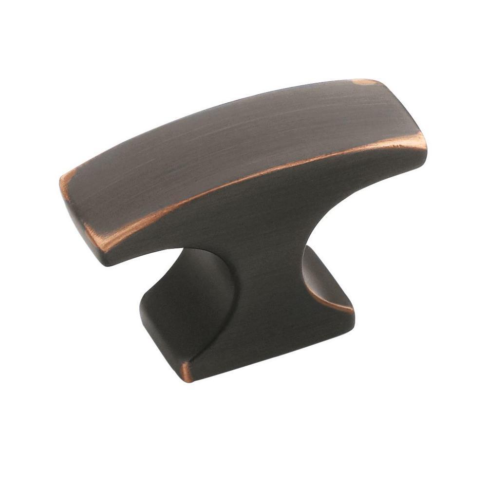 Conrad 1-1/2 in. (38 mm) Oil-Rubbed Bronze Cabinet Knob
