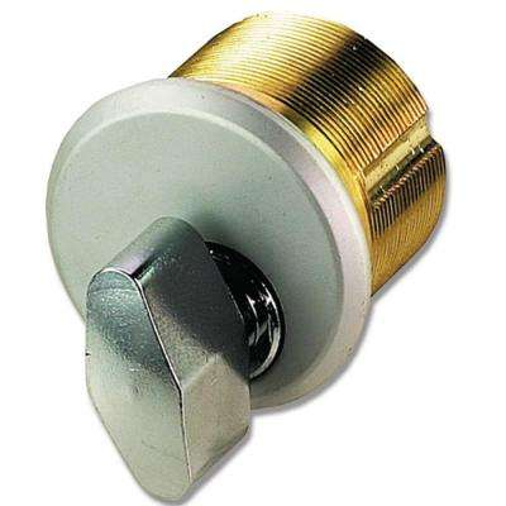 Brass Thumbturn in Aluminum