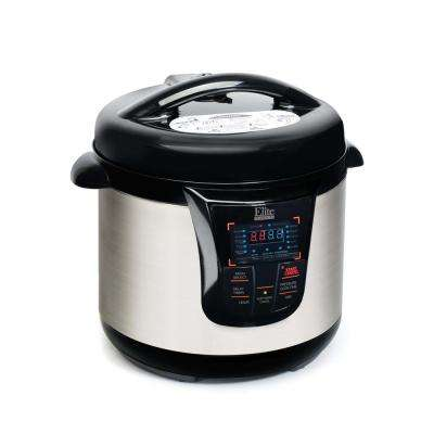 8Qt. Electric Stainless Steel Pressure Cooker refurbished unit