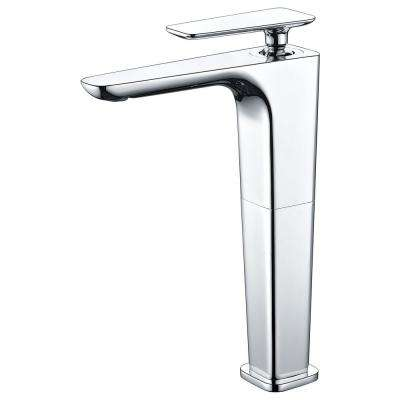AB1778-PC Single Hole Single-Handle Bathroom Faucet in Polished Chrome