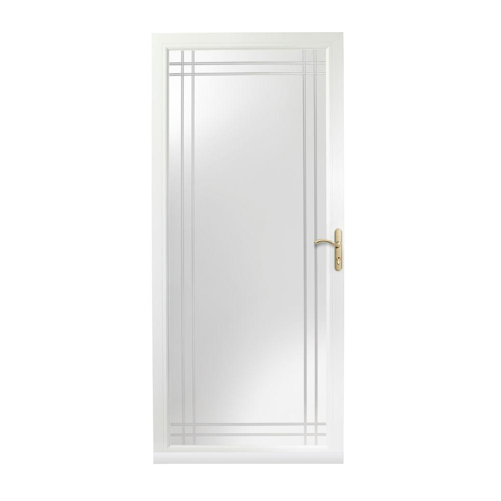 42 inch entry door home in x 80 in 9panel primed for 30 inch storm door