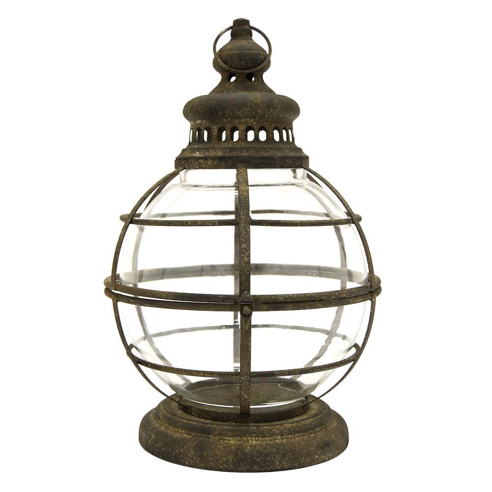 19.75 in. Metal Lantern