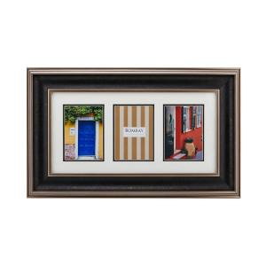 Bombay Brown 3-Opening Hudson Collage Picture Frame by Bombay