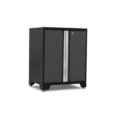 Pro 3.0 Series 28 in. W x 35.5 in. H x 22 in. D 18-Gauge Welded Steel 2-Door Base Cabinet in Gray