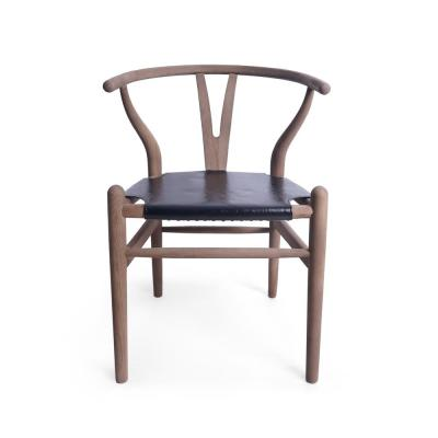 Gessford Antique Brown Wood Dining Chair