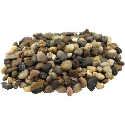 0.5 in. to 1.5 in., 20 lb. Small Mixed Grade A Polished Pebbles
