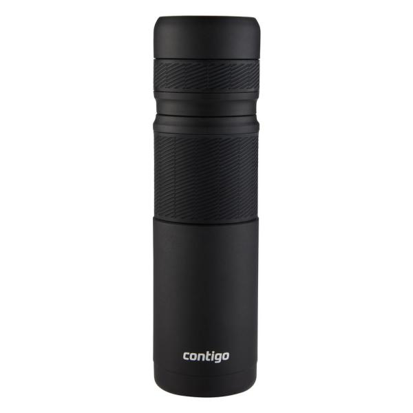 925e27d37e Contigo Thermal Bottle 25 oz. Matte Black Water Bottle 2001706 - The ...