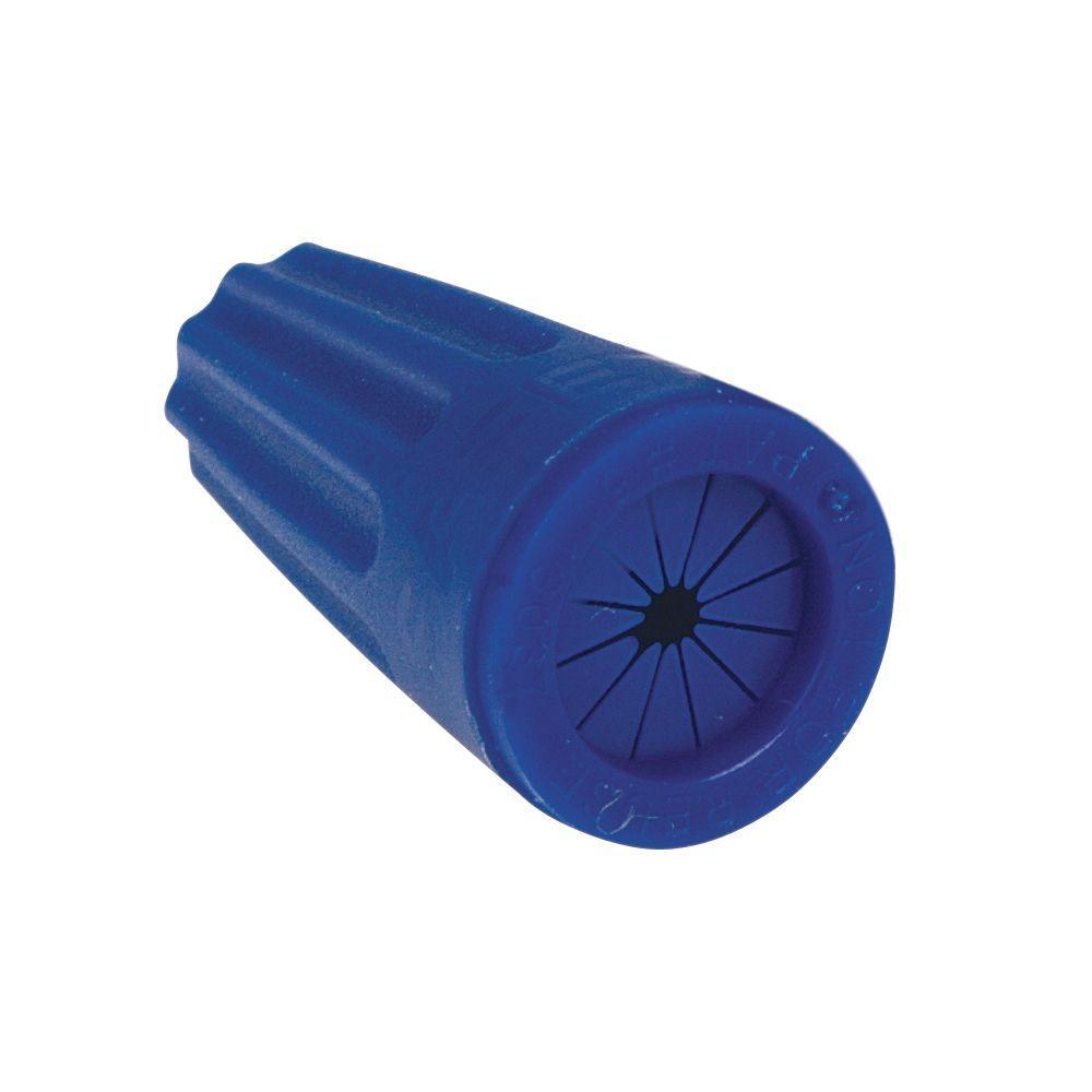 Blue/Blue Waterproof Wire Connector (20-Pack per Bag)