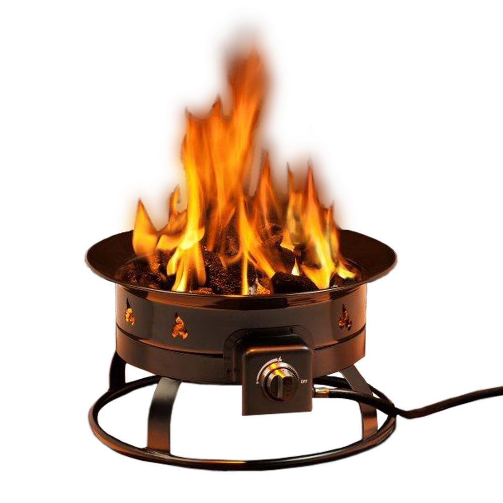 Heininger Portable Propane Gas Fire Pit