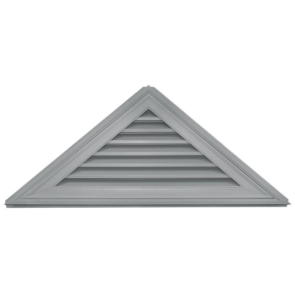 Builders Edge 10/12 Triangle Gable Vent #030 Paintable