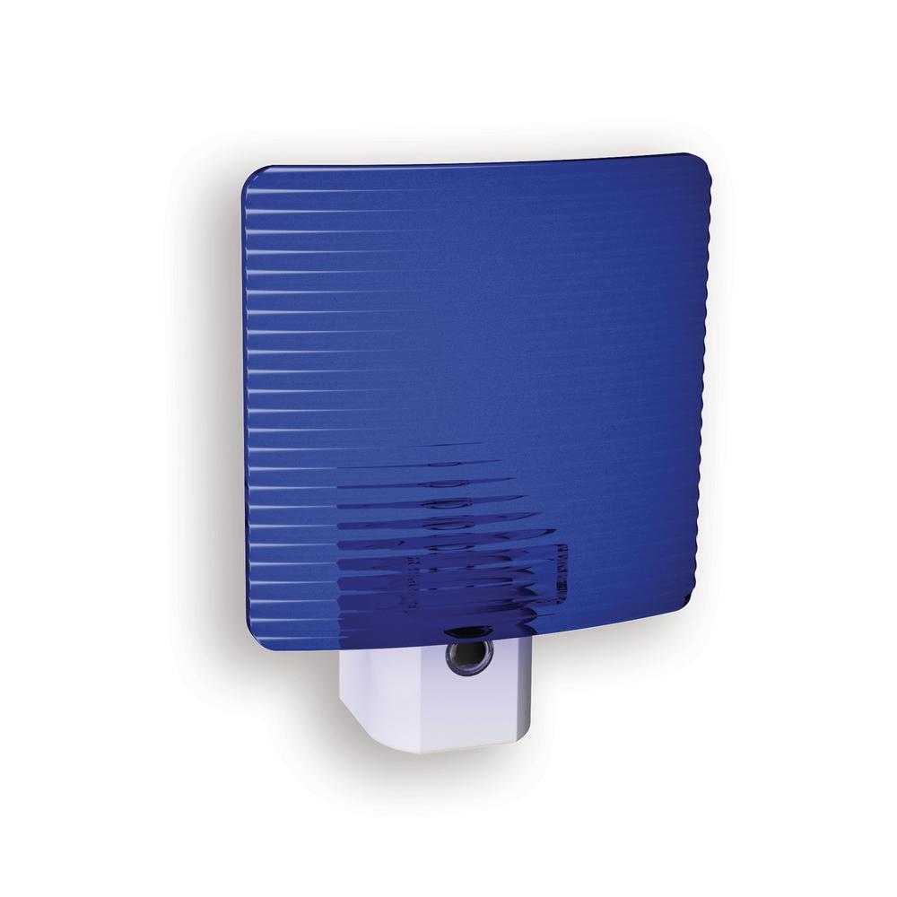 Blue Wave Translucent Screen Automatic LED Night Light