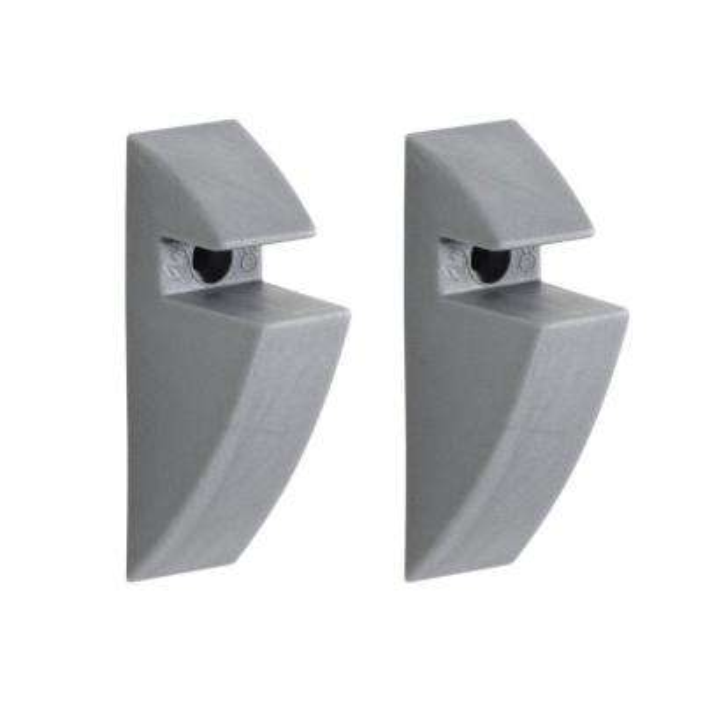 5/16 in. Shelf Support Clip in Grey