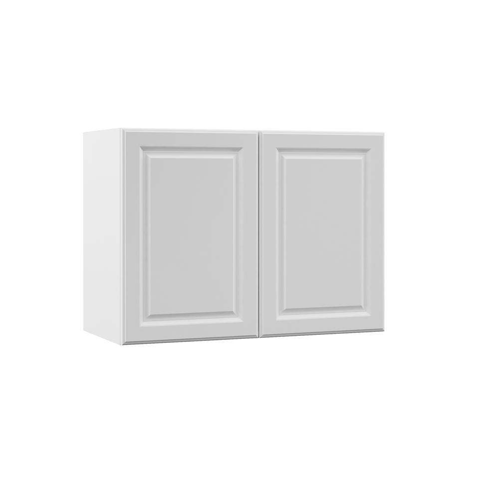 Hampton Bay Kitchen Cabinets White: Hampton Bay Designer Series Elgin Assembled 33x24x15 In