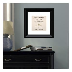 Amanti Art Steinway 8 inch x 8 inch White Matted Black Picture Frame by Amanti Art