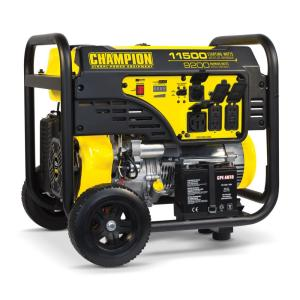 11,500/9,200-Watt Gasoline Powered Electric Start Portable Generator