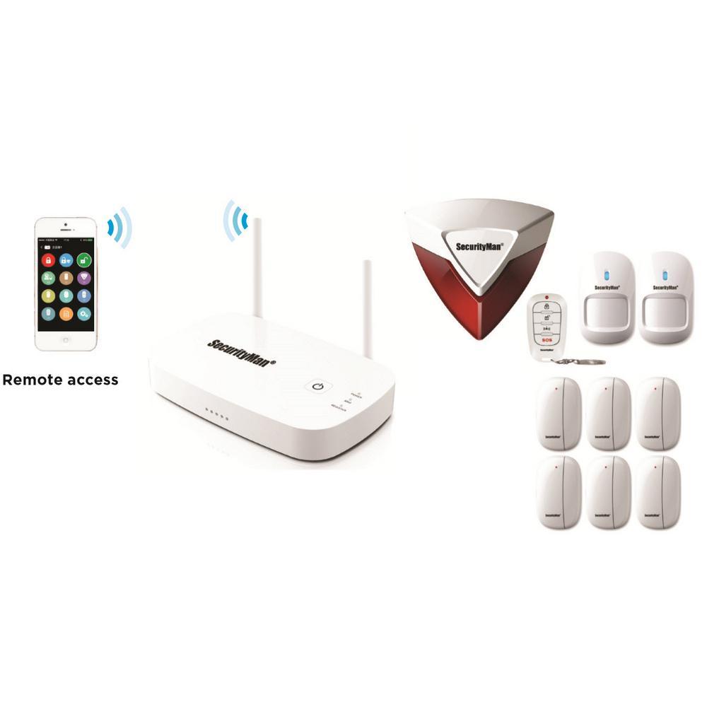 Securityman Mobile App Based Wireless Home Security Alarm...