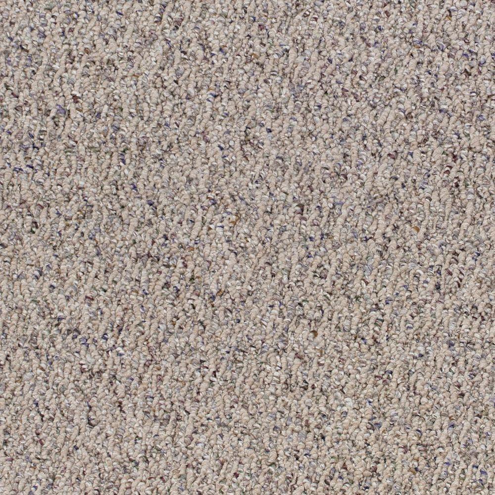 Rapid Install Speeding Color Rosewood Loop 12 Ft Carpet