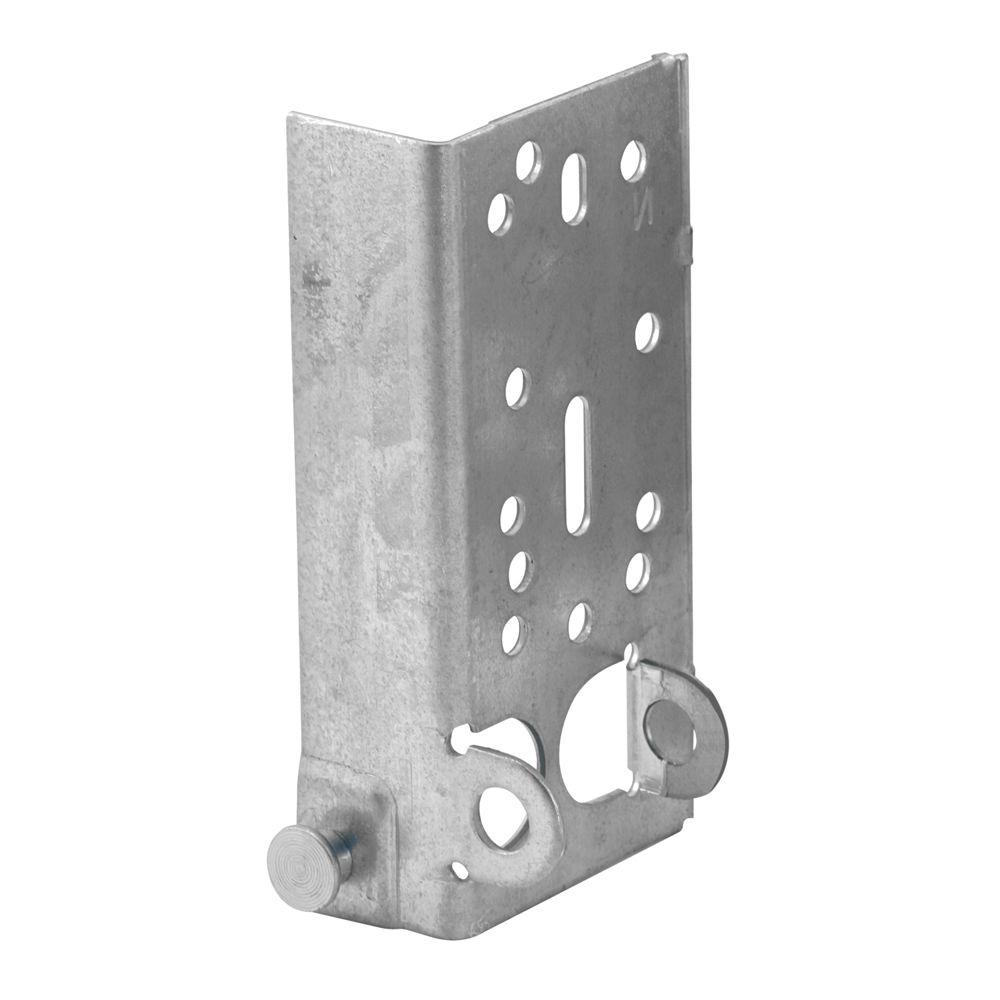 Prime-Line 7/16 in. Stem Left Hand Bottom Lifting Bracket with Fasteners