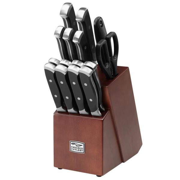 Chicago Cutlery Armitage 16-Piece Knife Block Set 1132332