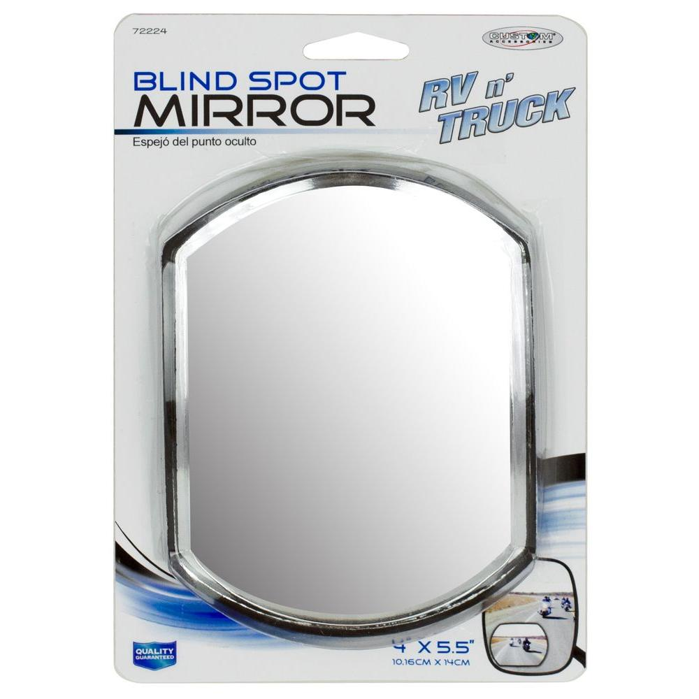 4 x 5-1/2 in. RV and Truck Blind Spot Mirror (2-Pack)