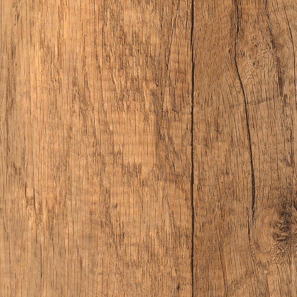 Textured Oak Angona Laminate Flooring - 5 in. x 7 in. Take Home Sample