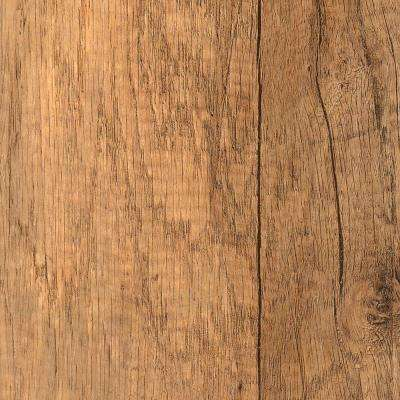 Textured Oak Angona Laminate Flooring - 5 in. x 7 in. Take Home Sample