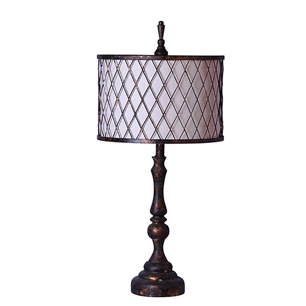 30 in. Black Table Lamp