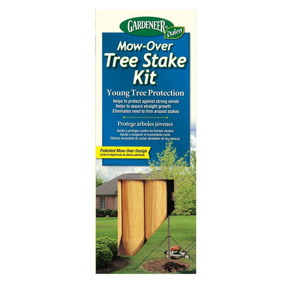 Dalen Products Mow Over Tree Stake Kit Tsd 12 The Home Depot