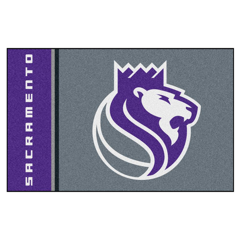 FANMATS NBA Sacramento Kings Gray 1 Ft. 7 In. X 2 Ft. 6 In