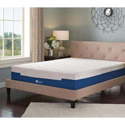 7 in. Split King Size Memory Foam Mattress