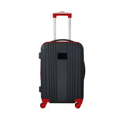 Carry-On Hardcase 21 in. Red Dual Color Expandable Spinner