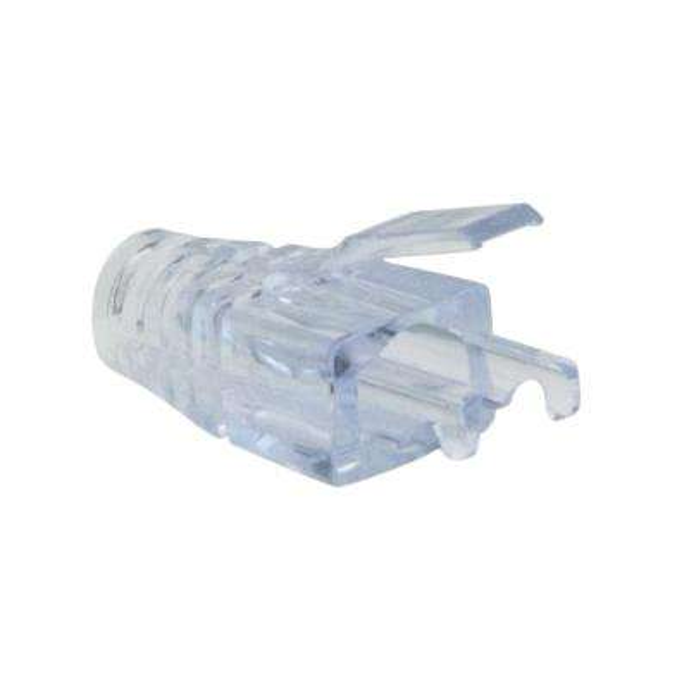 100036 EZ-RJ45 Cat6 Strain Relief in Clear (50 per Bag)