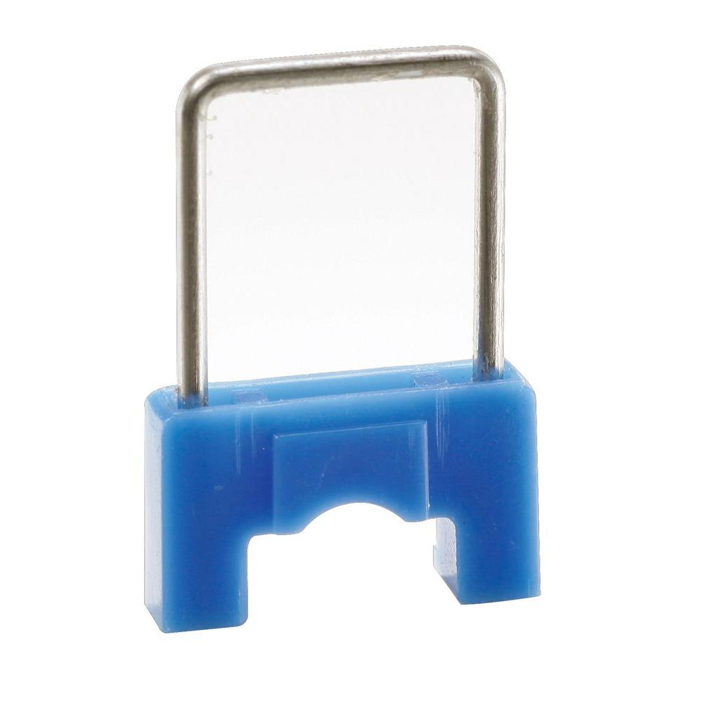 CableBoss 5/16 in. Blue Plastic and Metal Staples (250-Pack)