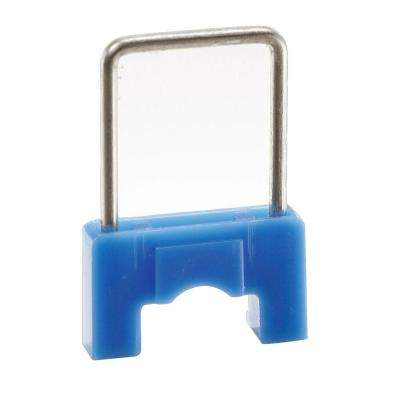 CableBoss 5/16 in. Plastic and Metal Staples, Blue (250-Pack)