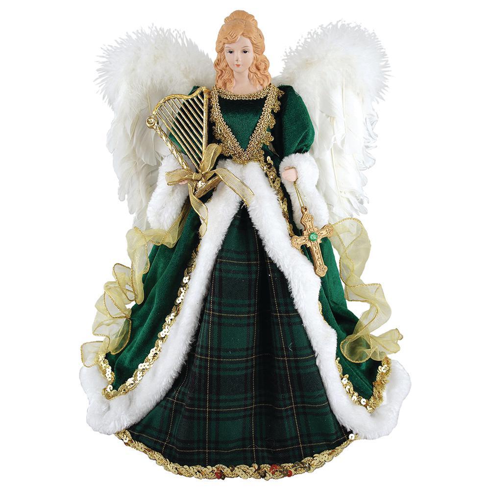 16 in. Irish Angel Tree Topper