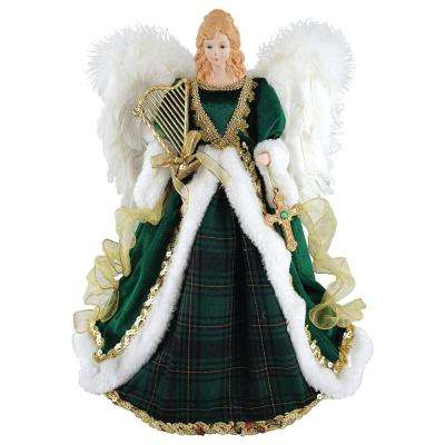 16 in. Irish Angel Tree Topper