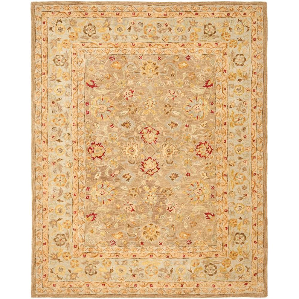 Safavieh Anatolia Tan Ivory 9 Ft X 12 Ft Area Rug An522b 9 The