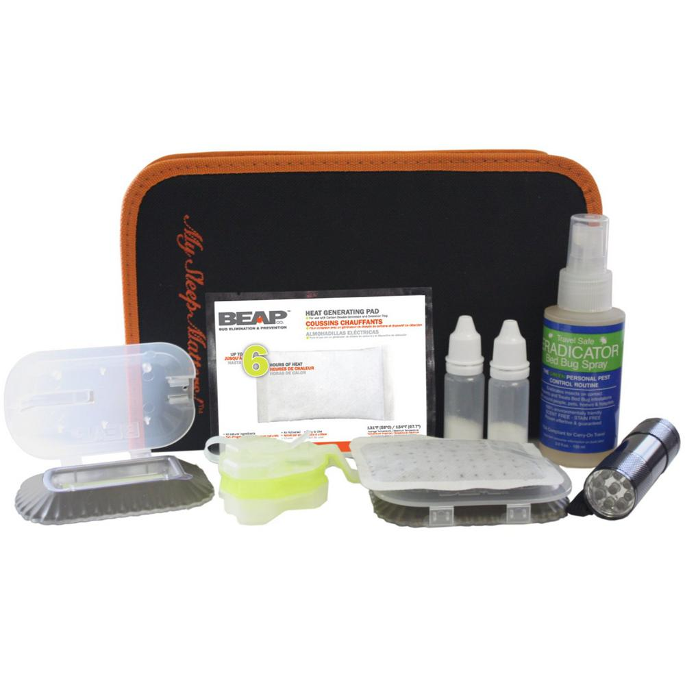 BEAPCO Bed Bug Quick Response Refill Kit Actively Lures Bed Bugs into Traps