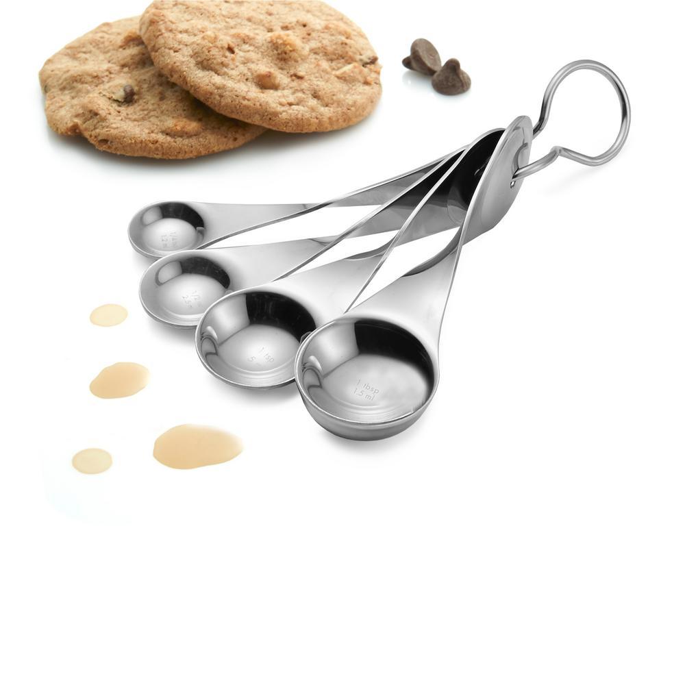 Twist Stainless-Steel Measuring Spoon Set