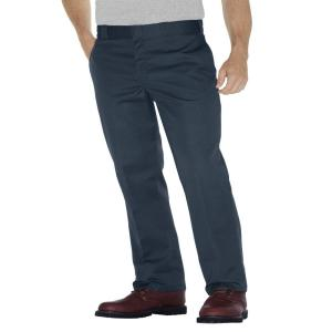 cfeb67ae Dickies Original 874 Men 38 in. x 29 in. Silver Work Pant-874SV 38 ...