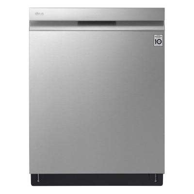 24 in. Top Control Built-In Dishwasher in PrintProof Stainless Steel with QuadWash, EasyRack Plus and TrueSteam, 42 dBA