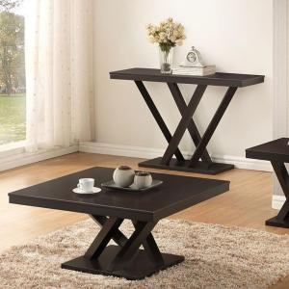 Everdon Dark Brown Console Table