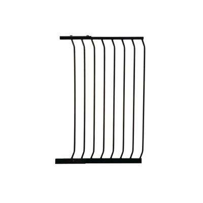 24.5 in. Gate Extension for Black Chelsea Extra Tall Child Safety Gate